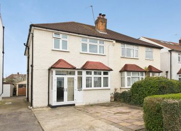 Thumbnail 3 bed property for sale in Grasmere Avenue, London