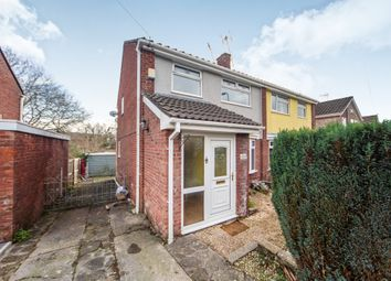 Thumbnail 3 bed semi-detached house for sale in Neyland Close, Tonteg, Pontypridd