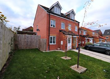 Thumbnail 3 bed detached house for sale in Oxford Close, Peterlee