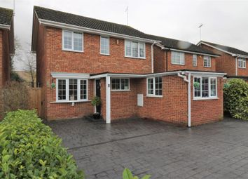 Thumbnail 4 bed detached house for sale in Meadow Walk, Standon, Ware