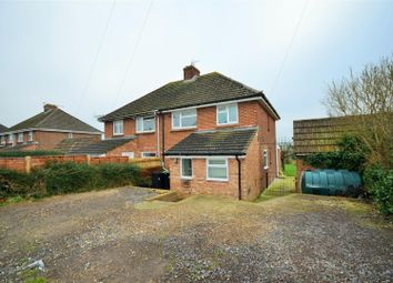 Thumbnail 3 bed semi-detached house for sale in Hill View, Bishops Caundle, Sherborne