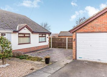 Thumbnail 2 bed bungalow for sale in Meadow Close, Bagworth, Coalville