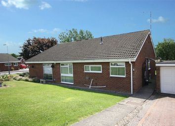 Thumbnail 2 bed semi-detached bungalow for sale in Holme Close, Brownsover, Rugby, Warwickshire