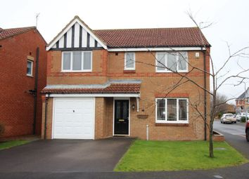 Thumbnail 4 bed detached house for sale in Austen Close, Billingham