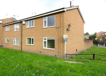 Thumbnail 1 bedroom flat for sale in Towyn Court, Top Valley, Nottingham