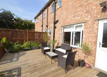 Thumbnail 3 bed terraced house for sale in Hertford Close, Eastfield, Scarborough