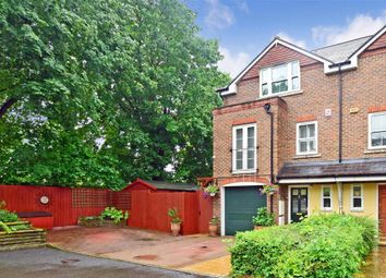 Thumbnail 3 bed town house for sale in Wyndhurst Close, South Croydon, Surrey