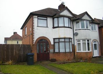 Thumbnail 3 bed semi-detached house for sale in Bradstock Road, Birmingham, West Midlands
