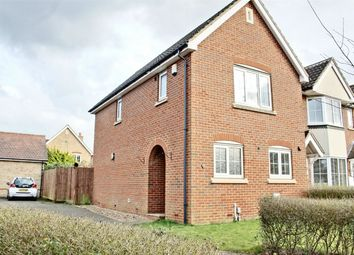 Thumbnail 3 bedroom end terrace house for sale in Saunders Court, Great Cambourne, Cambourne, Cambridge