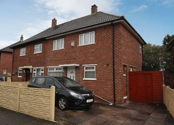 Thumbnail 3 bed semi-detached house for sale in Garsdale Crescent, Blurton, Stoke-On-Trent, Staffordshire