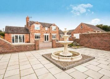 Thumbnail 5 bed detached house for sale in Wall Hill, Congleton, Cheshire