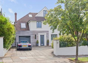 Thumbnail 4 bed detached house for sale in Tongdean Road, Hove
