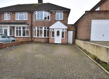 Thumbnail 3 bed semi-detached house for sale in Englefield Road, Evington, Leicester
