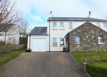 Thumbnail 3 bed semi-detached house for sale in Ard Reayrt, Ramsey Road, Laxey, Isle Of Man