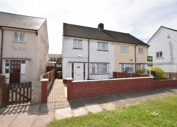 Thumbnail 3 bed semi-detached house to rent in Hall Crescent, Aveley, Essex