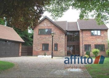 Thumbnail 4 bed detached house for sale in Forest Rise, Kirby Muxloe, Leicester
