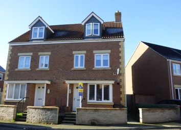 Thumbnail 4 bedroom town house for sale in Green Crescent, Frampton Cotterell, Bristol, Gloucestershire