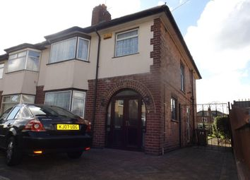 Thumbnail 3 bedroom semi-detached house to rent in Haslemere Road, Nottingham