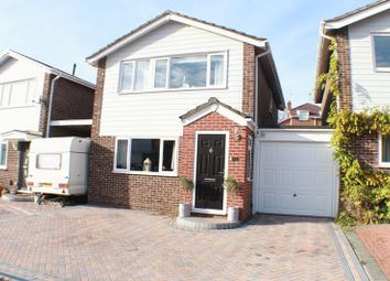 Thumbnail 3 bedroom link-detached house for sale in Queens Road, Warsash, Southampton