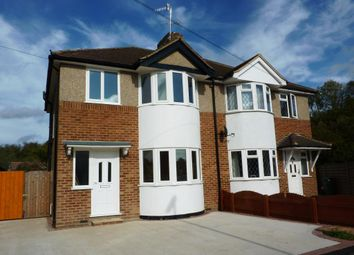 Thumbnail 3 bed semi-detached house to rent in Wimborne Avenue, Redhill, Surrey