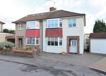 Thumbnail 3 bed semi-detached house for sale in Royce Close, Broxbourne