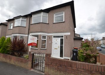 Thumbnail 3 bed semi-detached house to rent in Hawarden Road, Beechwood, Newport