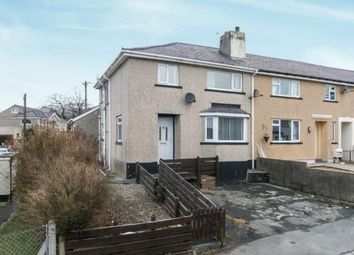 Thumbnail 3 bed end terrace house for sale in Maes Coetmor, Bethesda, Gwynedd