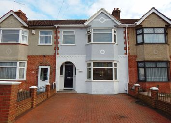 Thumbnail 3 bed terraced house for sale in Lonsdale Avenue, Drayton, Portsmouth