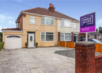 Thumbnail 3 bed semi-detached house for sale in Dodds Lane, Liverpool