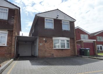 Thumbnail 3 bedroom detached house for sale in St. Edmunds Close, West Bromwich