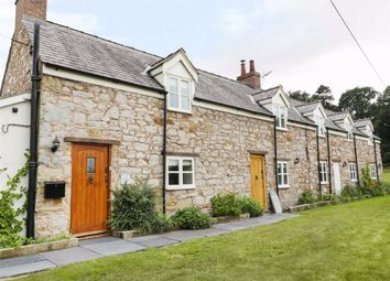 Thumbnail 2 bed cottage to rent in Bryn Road, Gwernaffield, Flintshire