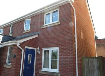 Thumbnail 2 bedroom semi-detached house to rent in Oakfields, Tiverton