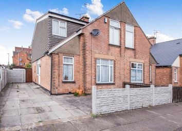 Thumbnail 4 bedroom semi-detached house for sale in Rosebery Street, North Evington, Leicester