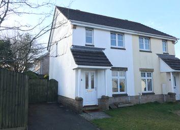 Thumbnail 2 bed semi-detached house to rent in Liskerrett Road, Liskeard
