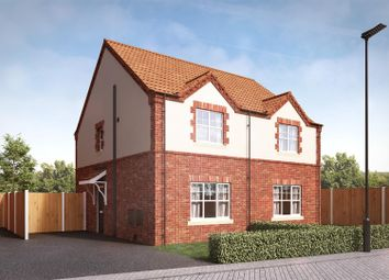 Thumbnail 2 bed semi-detached house for sale in Churchill Road, Yaddlethorpe Grange, Scunthorpe