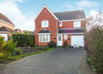 Thumbnail 4 bedroom detached house for sale in John Woodhouse Drive, Caister-On-Sea, Great Yarmouth