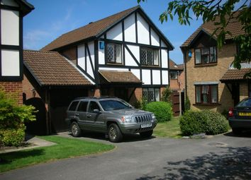 Thumbnail 3 bed detached house to rent in Horsebrass Drive, Bagshot