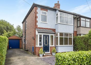 Thumbnail 3 bedroom semi-detached house for sale in Pembury Avenue, Penwortham, Preston