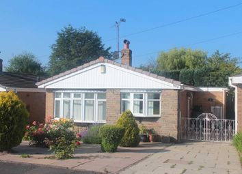 Thumbnail 2 bed detached bungalow for sale in Holyhead Crescent, Weston Coyney, Stoke-On-Trent