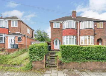 Thumbnail 3 bed semi-detached house for sale in Brookmans Avenue, Quinton, Birmingham