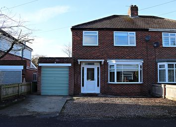 Thumbnail 3 bed semi-detached house for sale in Hudswell Grove, Stockton-On-Tees