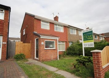 Thumbnail 3 bed semi-detached house for sale in Hargrave Close, Prenton, Wirral