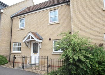 Thumbnail 2 bed terraced house to rent in Christie Drive, Hinchingbrooke Park, Huntingdon