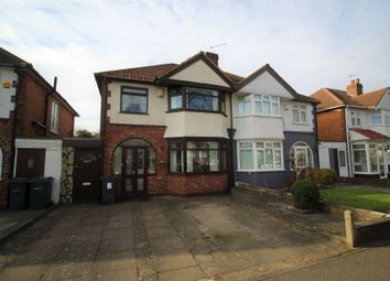 Thumbnail 3 bed semi-detached house for sale in Stratford Road, Hall Green, Birmingham