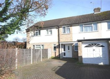 Thumbnail 5 bedroom end terrace house for sale in Henley Gardens, Yateley, Hampshire