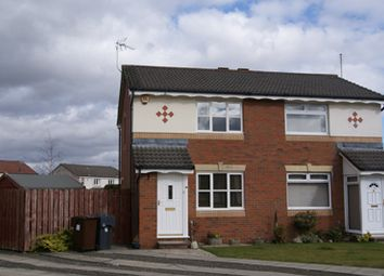 Thumbnail 2 bed semi-detached house to rent in Glaive Avenue, Wallacepark