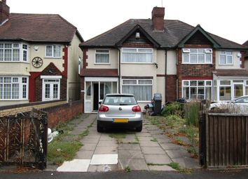 Thumbnail 3 bed semi-detached house to rent in Alum Rock Road, Alum Rock, Birmingham