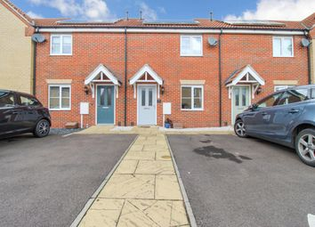 Thumbnail 2 bed terraced house for sale in Braeburn Road, Deeping St James, Market Deeping, Peterborough
