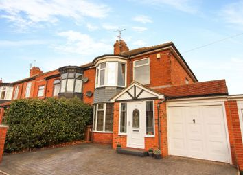 Thumbnail 3 bed semi-detached house for sale in Belsay Avenue, Whitley Bay