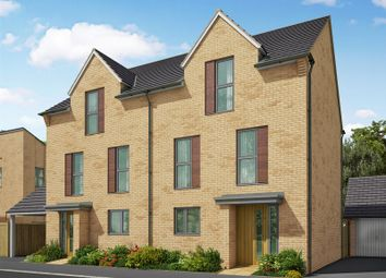 Thumbnail 3 bed semi-detached house for sale in The Boulevards, Station Road, Northstowe, Cambridge
